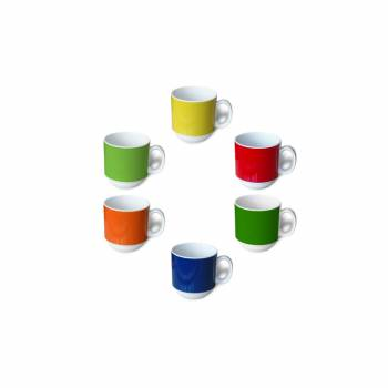 Handle cup 0,3 l in 7 strong colors