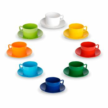 Kids cup with saucer