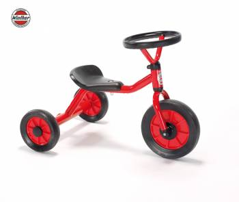 Winther MINI Push car with steering wheel