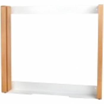 Removable frame for wall elements