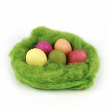 example eggs with nawaro egg nature coloring 5er