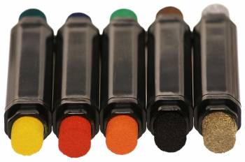 Stamp dyeing pens with 10 colors