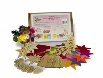 Creative set Little Kids Embroidery Box content