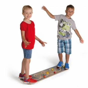 Balancing board looping teamwork for children