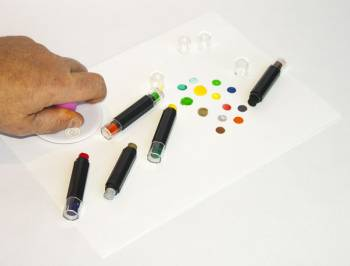Stamp dyeing pens with 10 colors must have