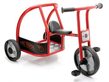 Fire engine tricycle