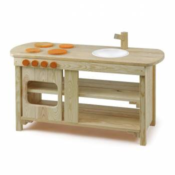 Garden play kitchen