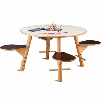 Play table TAVI white