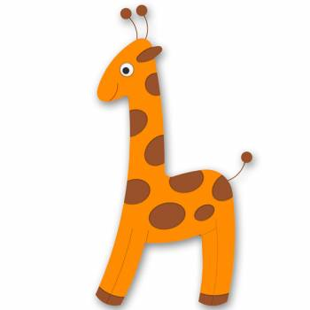 "Wall Decorations ""Giraffe"""