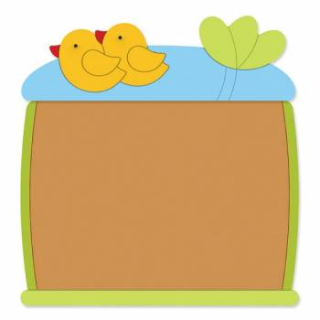"Design-Corkboard ""Duckies"""