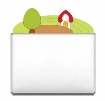 "Design-Magnetic board ""Countryside"""