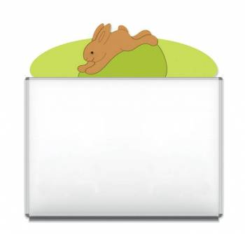 "Design-Magnetic board ""Bunny"""
