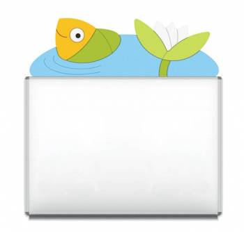 "Design-Magnetic board ""Fish"""