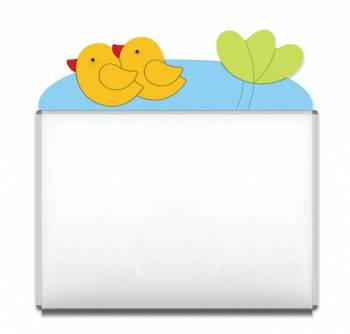 "Design-Magnetic board ""Duckies"""
