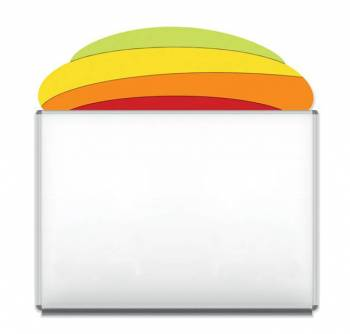 "Design-Magnetic board ""Rainbow Hill"""