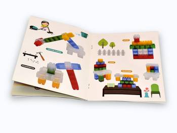kids-blocks-soft building blocks-160 pcs with book of design Examples