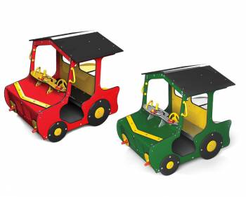 Playmobile tractor in red or green
