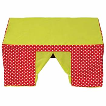 Table tent red / green
