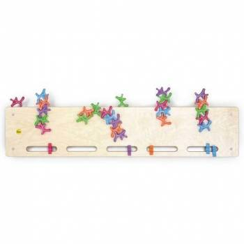 German Wooden Toy Stacking Ghost Board