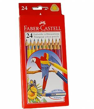 Faber-Castell triangular thin-core pencil