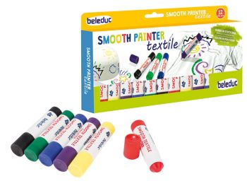 Smooth Painter textile Set of 12