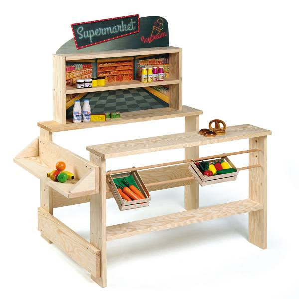 der kindergarten onlineshop kaufladen supermarket. Black Bedroom Furniture Sets. Home Design Ideas