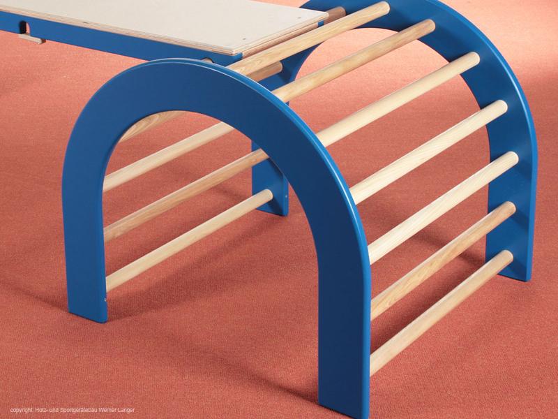 Kletterbogen Kunststoff : Der kindergarten onlineshop kletterbogen set teilig blau seite