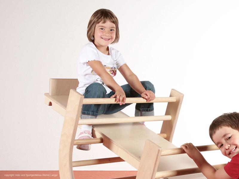 Holz Kletter Bogen : Der kindergarten onlineshop kletterbogen set teilig natur