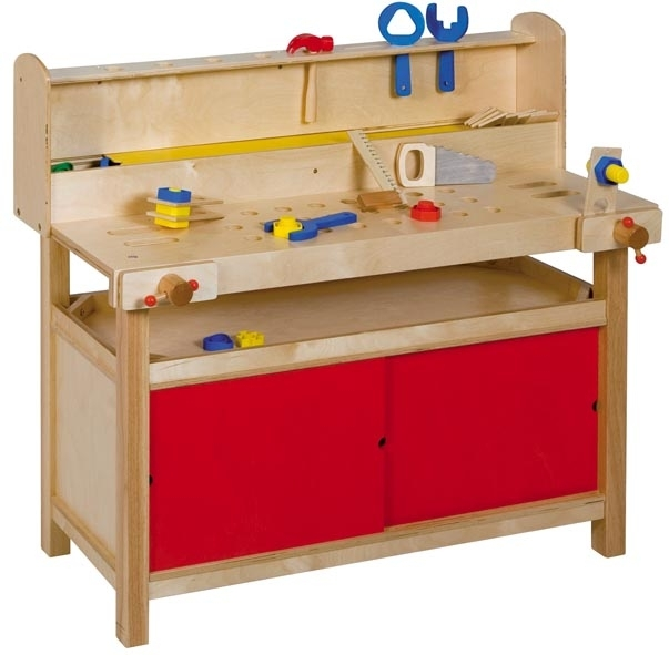 der kindergarten onlineshop spiel werkbank f r puppenecke. Black Bedroom Furniture Sets. Home Design Ideas
