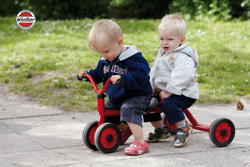 MINI PushBike for two with children
