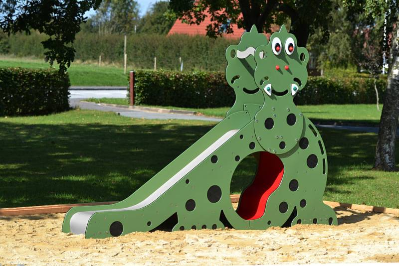 Dino slide sideview