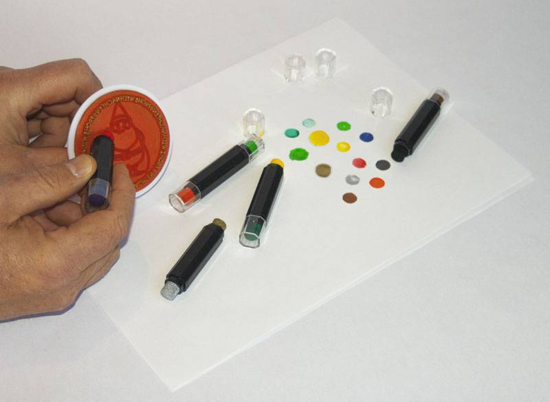 Stamp pens set Nice product must have