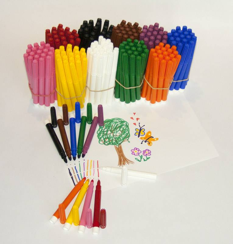 Felt pen SUPER pack 180 + 20
