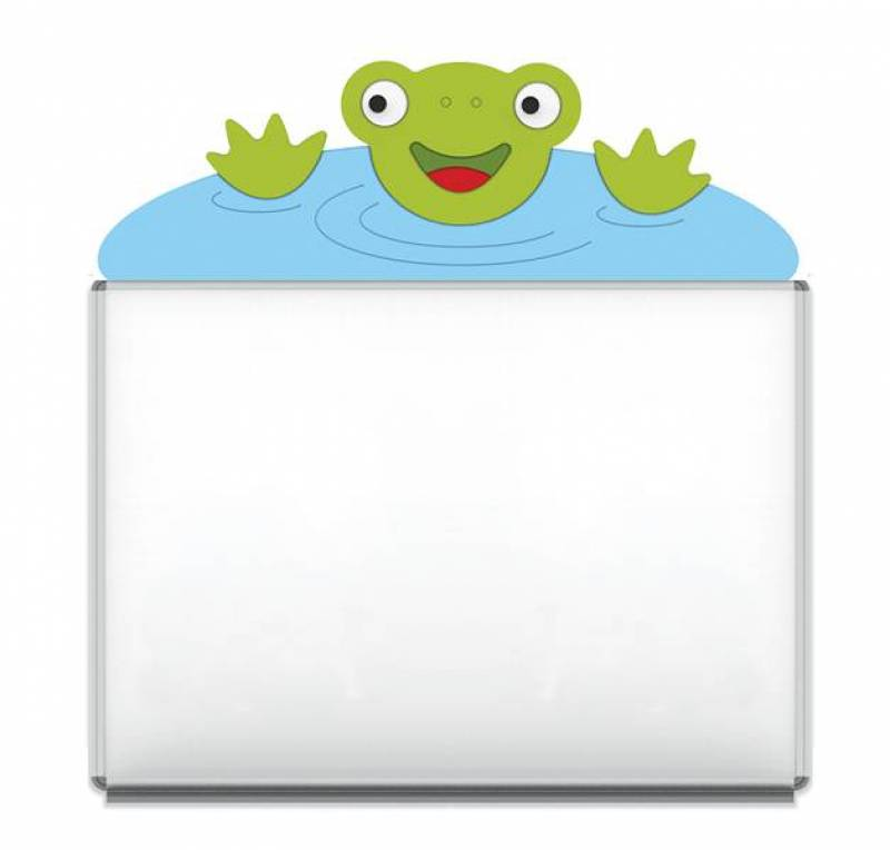 "Design-Magnetic board ""Frog"""