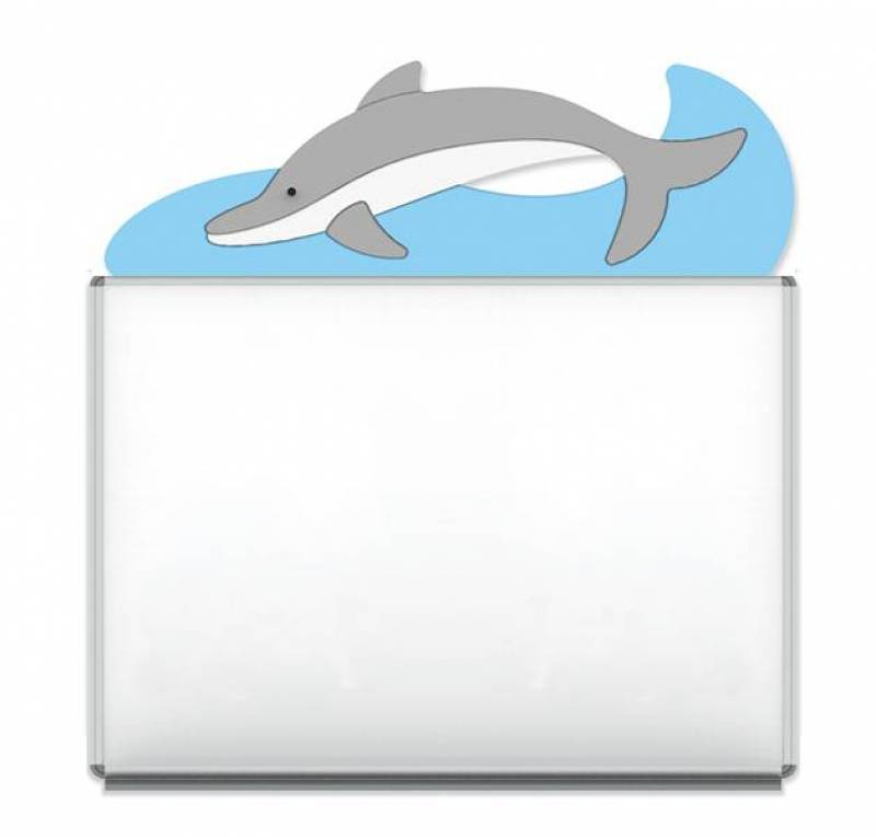 "Design-Magnetic board ""Dolphin"""