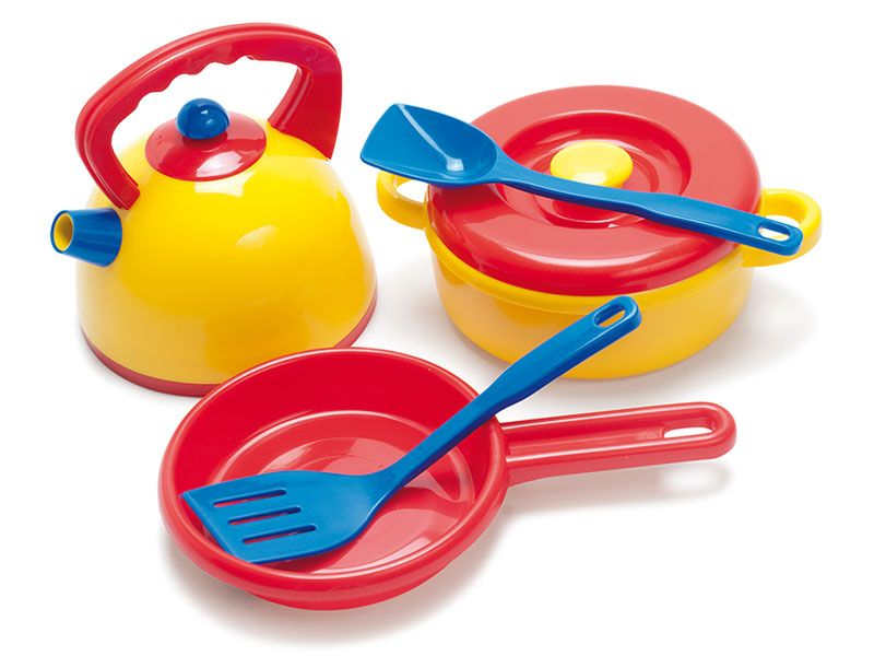Kitchen Set Dantoy with 7 pieces