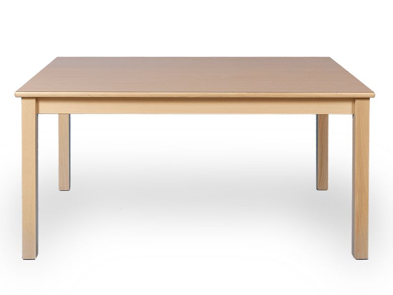 Rectangular table in 5 different sizes and 12 different heights