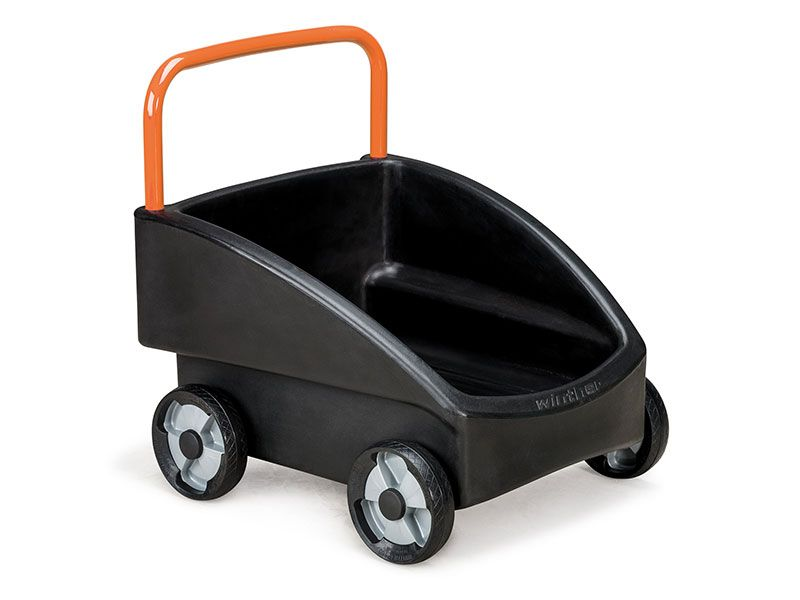 cart for pushing activ for the playground