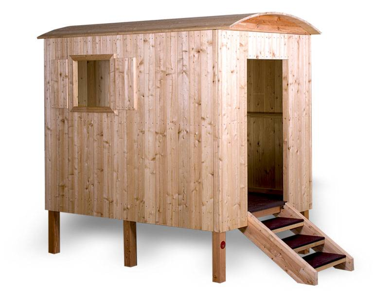 Playhouse constraction trailer larch