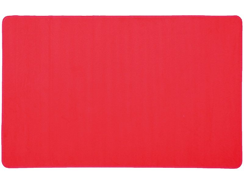 Play rug rectangular red 200 x 300 cm