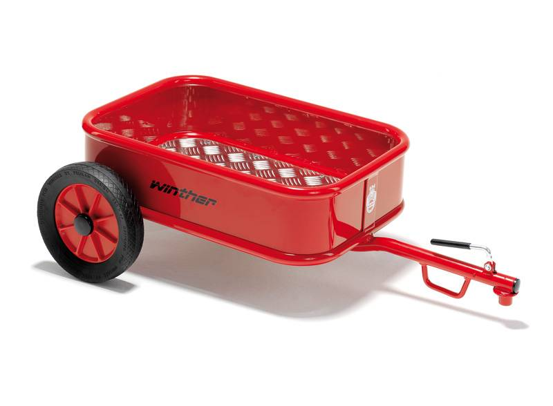 Winther multi-trailer with tub