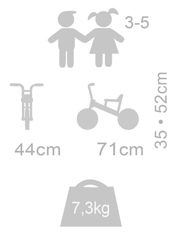 Winther Bike Runner small piktogram dimensions