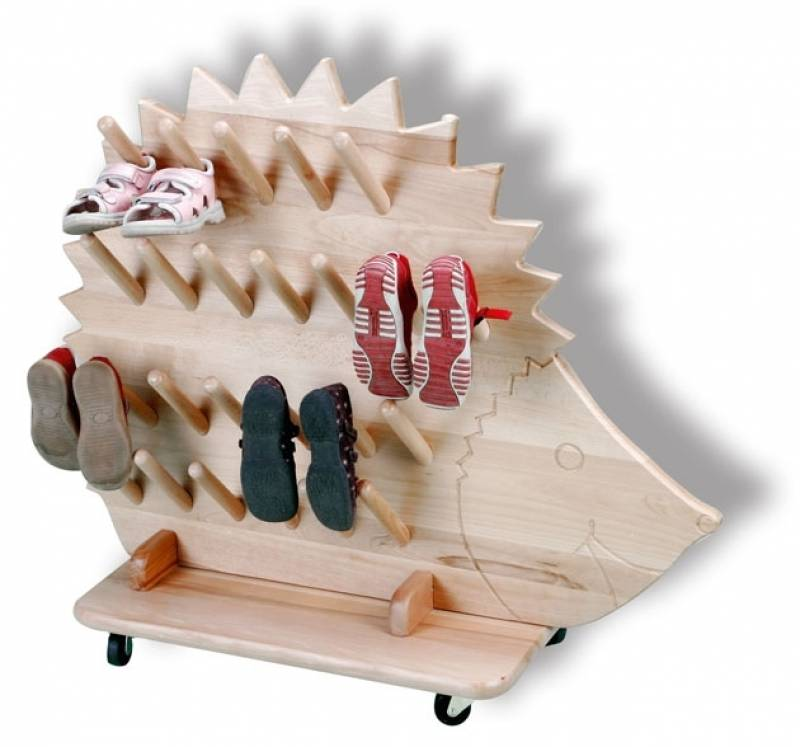 boot holder hedgehog for 25 pairs of shoes