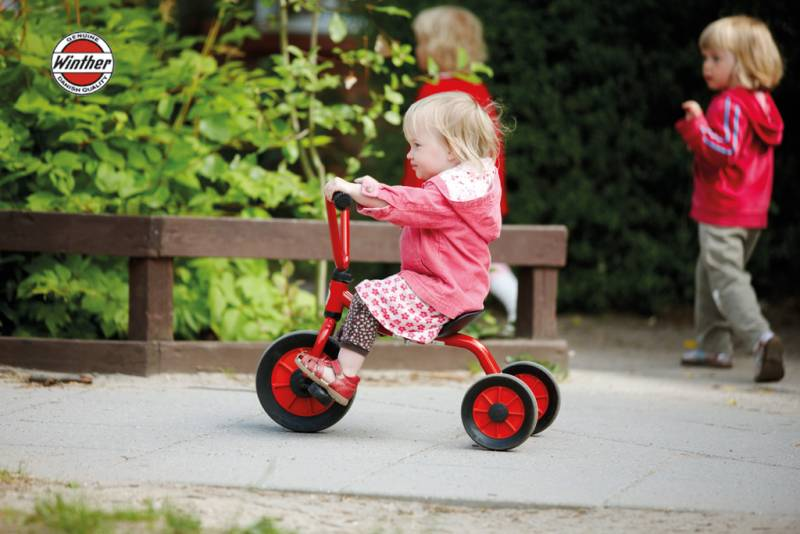 Winther MINI Tricycle, low in action
