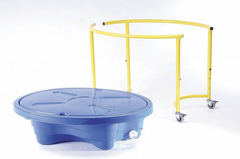 Sand and water play table, blue